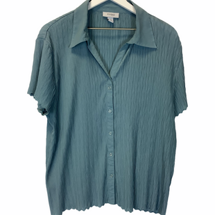Primary Photo - BRAND: DRESS BARN STYLE: TOP SHORT SLEEVE COLOR: BLUE SIZE: 2X SKU: 210-210145-10