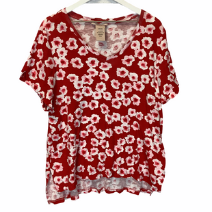 Primary Photo - BRAND: PHILOSOPHY STYLE: TOP SHORT SLEEVE COLOR: RED SIZE: XXL SKU: 210-210106-23351