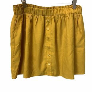 Primary Photo - BRAND: RED CAMEL STYLE: SKIRT COLOR: YELLOW SIZE: L SKU: 210-21099-19321