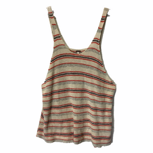 Primary Photo - BRAND: FREE PEOPLE STYLE: TOP SLEEVELESS COLOR: TAN SIZE: M SKU: 210-210130-6262