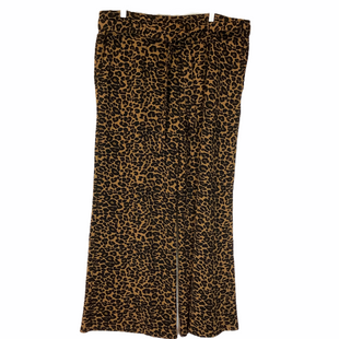 Primary Photo - BRAND: TERRA & SKY STYLE: PANTS COLOR: ANIMAL PRINT SIZE: 1X SKU: 210-210142-2834