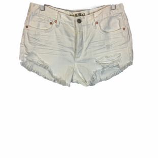 Primary Photo - BRAND: WE THE FREE STYLE: SHORTS COLOR: WHITE SIZE: 12 SKU: 210-210130-3334