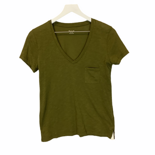 Primary Photo - BRAND: MADEWELL STYLE: TOP SHORT SLEEVE COLOR: GREEN SIZE: XS SKU: 210-210117-7952
