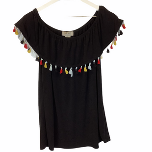 Primary Photo - BRAND:    CLOTHES MENTOR STYLE: TOP SHORT SLEEVE COLOR: BLACK SIZE: L OTHER INFO: DIANA BELLE - SKU: 210-210129-4287