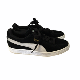 Primary Photo - BRAND: PUMA STYLE: SHOES ATHLETIC COLOR: BLACK SIZE: 6.5 SKU: 210-210145-1846