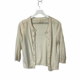 Primary Photo - BRAND: KATE SPADE STYLE: SWEATER CARDIGAN LIGHTWEIGHT COLOR: CREAM SIZE: S SKU: 210-210106-30622