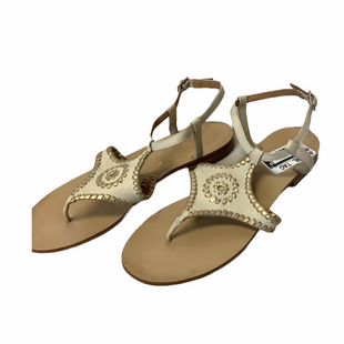 Primary Photo - BRAND: JACK ROGERS STYLE: SANDALS FLAT COLOR: TAN SIZE: 9 SKU: 210-210166-257