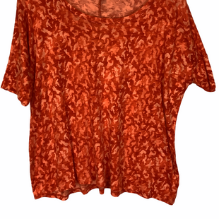 Primary Photo - BRAND: MICHAEL BY MICHAEL KORS STYLE: TOP SHORT SLEEVE COLOR: ORANGE SIZE: XS SKU: 210-210111-8806