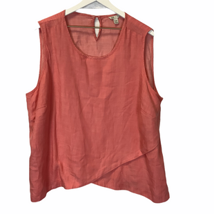 Primary Photo - BRAND: CATO STYLE: TOP SLEEVELESS COLOR: PEACH SIZE: 2X SKU: 210-210135-4961