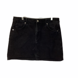 Primary Photo - BRAND: TOPSHOP STYLE: SKIRT COLOR: BLACK SIZE: 16 SKU: 210-210143-773