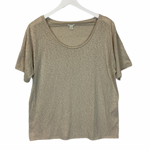 Primary Photo - BRAND: J CREW STYLE: TOP SHORT SLEEVE COLOR: TAN SIZE: XL SKU: 210-210145-1361