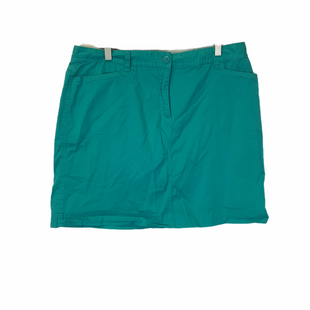 Primary Photo - BRAND: KAREN SCOTT STYLE: SHORTS COLOR: AQUA SIZE: 14 SKU: 210-210159-206