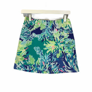 Primary Photo - BRAND: LILLY PULITZER STYLE: SKIRT COLOR: BLUE GREEN SIZE: 0R SKU: 210-210162-92