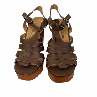 Primary Photo - BRAND: LUCKY BRAND STYLE: SANDALS HIGH COLOR: BROWN SIZE: 8.5 SKU: 210-210145-3804