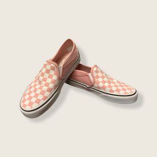 Primary Photo - BRAND: VANS STYLE: SHOES FLATS COLOR: PINK SIZE: 6.5 SKU: 210-21099-19117