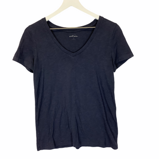 Primary Photo - BRAND: EDDIE BAUER STYLE: TOP SHORT SLEEVE BASIC COLOR: NAVY SIZE: S SKU: 210-210129-5400
