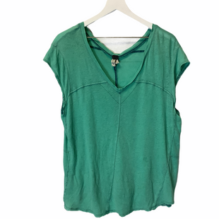 Primary Photo - BRAND: WE THE FREE STYLE: TOP SHORT SLEEVE COLOR: TEAL SIZE: M AS IS: SMALL HOLE ON BACKSKU: 210-210145-109