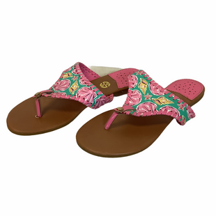 Primary Photo - BRAND: SIMPLY SOUTHERN STYLE: SANDALS FLAT COLOR: PINK SIZE: 7 SKU: 210-210157-1683