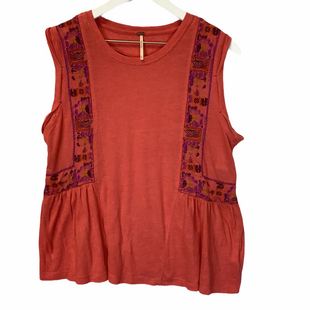 Primary Photo - BRAND: FREE PEOPLE STYLE: TOP SLEEVELESS COLOR: ORANGE SIZE: M SKU: 210-21099-14309