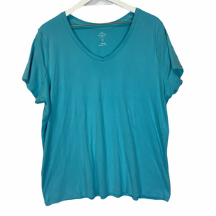 Primary Photo - BRAND: ST JOHNS BAY STYLE: TOP SHORT SLEEVE COLOR: BABY BLUE SIZE: 2X SKU: 210-210157-552