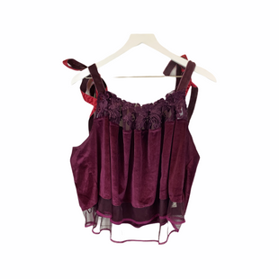 Primary Photo - BRAND: FREE PEOPLE STYLE: TOP SLEEVELESS COLOR: PURPLE SIZE: L SKU: 210-210142-2455