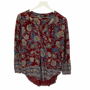 Primary Photo - BRAND: LUCKY BRAND STYLE: TOP LONG SLEEVE COLOR: RED SIZE: S SKU: 210-210135-3561
