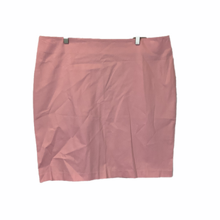 Primary Photo - BRAND: NEW YORK AND CO STYLE: SKIRT COLOR: PINK SIZE: 18 SKU: 210-210145-4024AS IS: DISCOLORED SPOT ON BACK