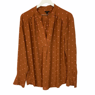 Primary Photo - BRAND: ANN TAYLOR STYLE: TOP LONG SLEEVE COLOR: ORANGE SIZE: XL SKU: 210-210106-29061