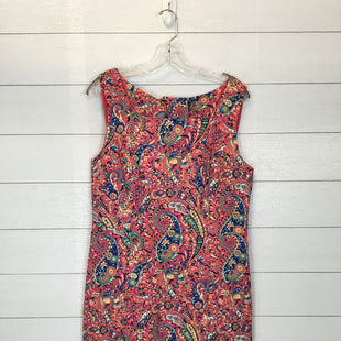 Primary Photo - BRAND: TALBOTS STYLE: DRESS SHORT SLEEVELESS COLOR: PINK SIZE: 12 SKU: 210-210129-3320