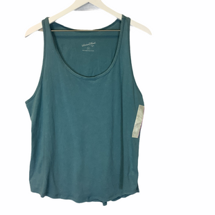 Primary Photo - BRAND: UNIVERSAL THREAD STYLE: TOP SLEEVELESS COLOR: BLUE SIZE: XXL SKU: 210-210145-23