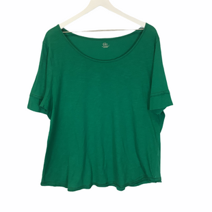 Primary Photo - BRAND: CATO STYLE: TOP SHORT SLEEVE COLOR: GREEN SIZE: 1X SKU: 210-210106-23251