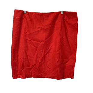 Primary Photo - BRAND: NEW YORK AND CO STYLE: SKIRT COLOR: RED SIZE: 18 SKU: 210-210145-4027