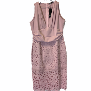 Primary Photo - BRAND: SHEIN STYLE: DRESS SHORT SLEEVELESS COLOR: PINK SIZE: L SKU: 210-210142-2677