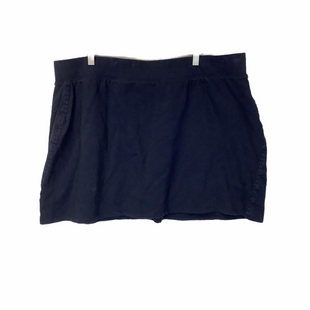Primary Photo - BRAND: CROWN AND IVY STYLE: SKIRT COLOR: NAVY SIZE: 3X SKU: 210-210143-644