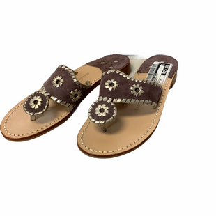 Primary Photo - BRAND: JACK ROGERS STYLE: SANDALS FLAT COLOR: PURPLE SIZE: 6 SKU: 210-210142-3567