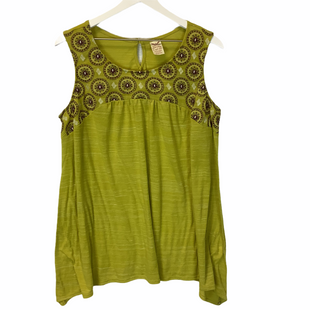 Primary Photo - BRAND: FADED GLORY STYLE: TANK TOP COLOR: GREEN SIZE: 2X SKU: 210-210157-361