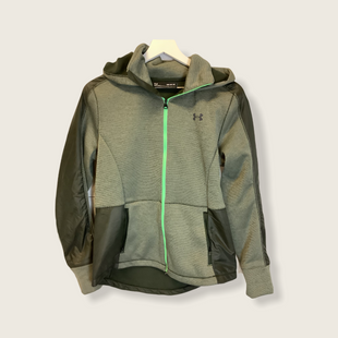 Primary Photo - BRAND: UNDER ARMOUR STYLE: ATHLETIC JACKET COLOR: GREEN SIZE: M SKU: 210-21099-16670