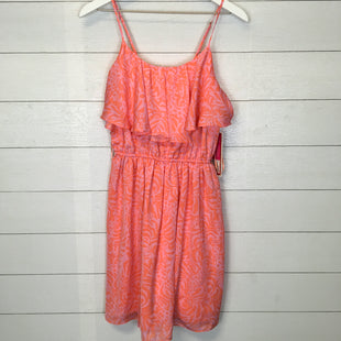 Primary Photo - BRAND: LILLY PULITZER STYLE: DRESS SHORT SLEEVELESS COLOR: ORANGE SIZE: S SKU: 210-210111-6286
