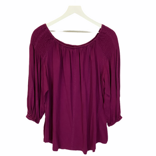 Primary Photo - BRAND: RALPH LAUREN STYLE: TOP LONG SLEEVE COLOR: PURPLE SIZE: 2X SKU: 210-21099-15294