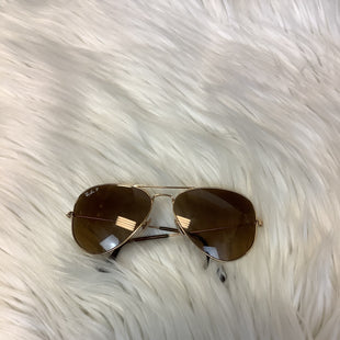 Primary Photo - BRAND: RAY BAN STYLE: SUNGLASSES COLOR: GOLD SKU: 210-21099-19416AS IS