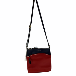 Primary Photo - BRAND: TOMMY HILFIGER STYLE: HANDBAG COLOR: RED BLUE SIZE: MEDIUM SKU: 210-210166-1026