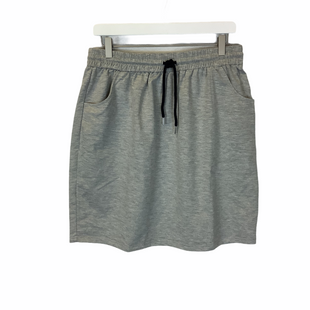 Primary Photo - BRAND: SHEIN STYLE: SKIRT COLOR: GREY SIZE: 1X SKU: 210-210166-504