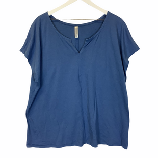 Primary Photo - BRAND: CACIQUE STYLE: TOP SHORT SLEEVE COLOR: BLUE SIZE: 2X SKU: 210-210106-25822