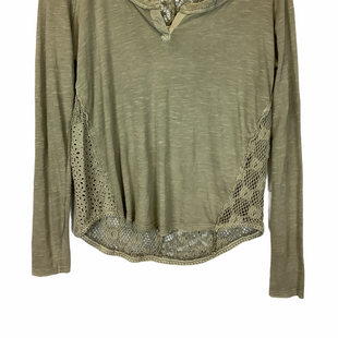 Primary Photo - BRAND: FREE PEOPLE STYLE: TOP LONG SLEEVE COLOR: GREEN SIZE: S SKU: 210-21099-16232