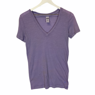 Primary Photo - BRAND: PINK STYLE: TOP SHORT SLEEVE COLOR: PURPLE SIZE: S SKU: 210-210135-2337