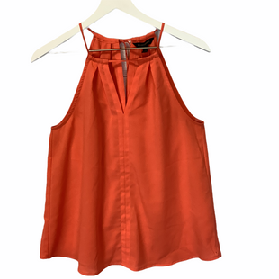 Primary Photo - BRAND: BANANA REPUBLIC O STYLE: TOP SLEEVELESS COLOR: ORANGE SIZE: S SKU: 210-21099-12832