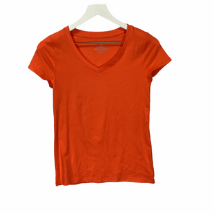 Primary Photo - BRAND: ANN TAYLOR STYLE: TOP SHORT SLEEVE COLOR: ORANGE SIZE: XS SKU: 210-210106-23870
