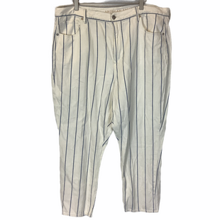Primary Photo - BRAND: AMERICAN EAGLE STYLE: PANTS COLOR: WHITE SIZE: 20 SKU: 210-210142-2456