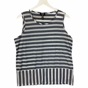 Primary Photo - BRAND: JONES NEW YORK STYLE: TOP SLEEVELESS COLOR: STRIPED SIZE: L SKU: 210-210106-26269
