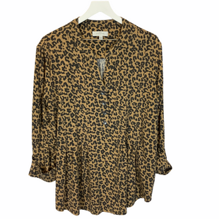 Primary Photo - BRAND: NEW DIRECTIONS STYLE: TOP LONG SLEEVE COLOR: ANIMAL PRINT SIZE: XXL SKU: 210-210106-30708